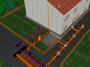 house drain